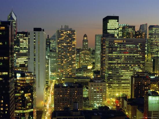 robert-francis-looking-south-down-rush-and-wabash-streets-in-the-near-north-of-downtown-chicago-illinois-usa