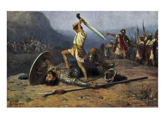 robert-leinweber-david-killing-goliath-from-the-bible-samuel-i-chapter-17-verse-51