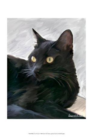 robert-mcclintock-black-cat-portrait