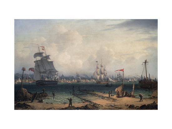 robert-salmon-view-of-liverpool-from-cheshire