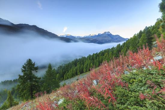 roberto-moiola-autumn-mist-dissolving-and-revealing-the-top-of-piz-la-margna-towering-over-peaks-of-engadine