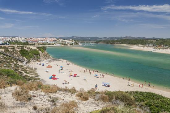 roberto-moiola-view-of-the-sandy-beach-of-vila-nova-de-milfontes-surrounded-by-the-turquoise-ocean-odemira