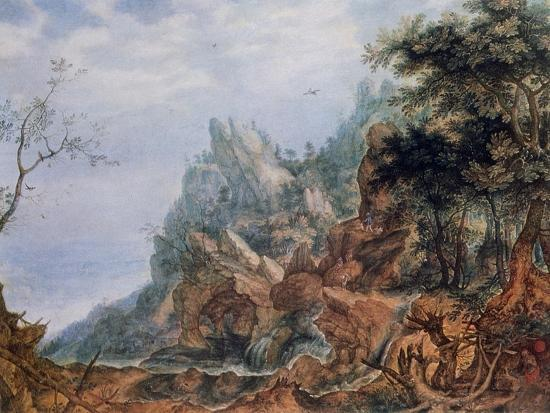 roelandt-savery-st-jerome-in-a-rocky-landscape-c1596-1639