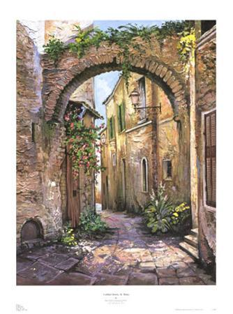 roger-duvall-cobbled-streets-st-remy