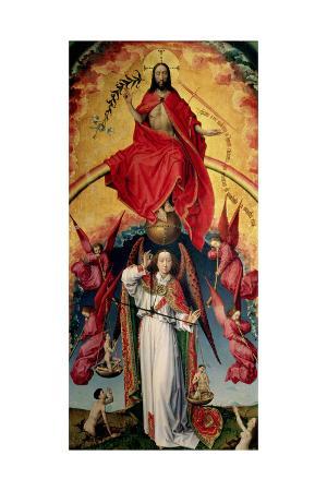 rogier-van-der-weyden-st-michael-weighing-the-souls-from-the-last-judgement-c-1445-50