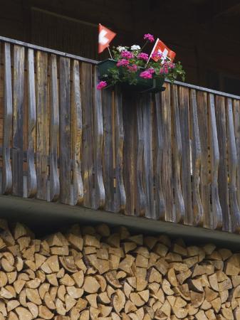 rolf-nussbaumer-swiss-flag-and-flower-pot-binn-wallis-switzerland