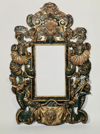 roman-17th-c-carved-black-and-gilt-baroque-frame-with-pierced-band-of-profuse-scrolling-strapwork