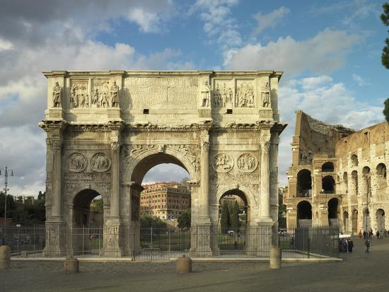 roman-architecture-arch-of-hadrian-and-constantine-in-rome