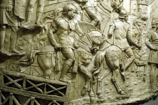 roman-cavalry-crossing-a-wooden-bridge-from-trajan-s-column-rome-106-113