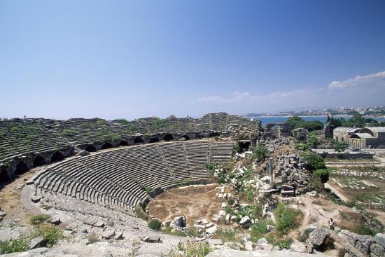 roman-theatre-in-side-near-selimiye-turkey