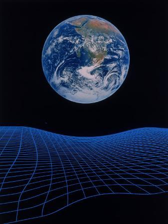 ron-russell-earth-floating-above-a-grid