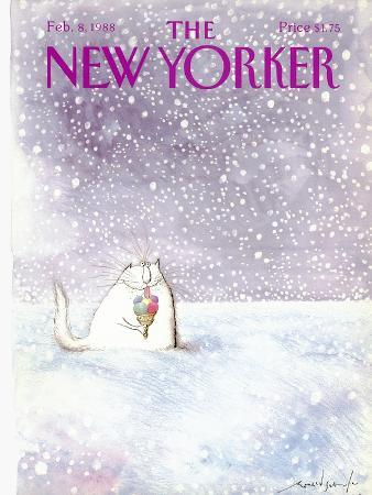 ronald-searle-the-new-yorker-cover-february-8-1988