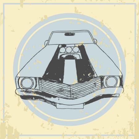 ronaleksandra-vector-american-muscle-car-retro-car-hand-drawn-car