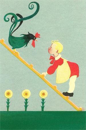 rooster-boy-on-ladder