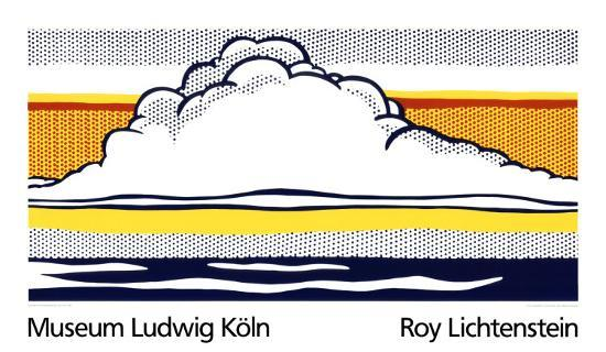 roy-lichtenstein-cloud-and-sea-1964