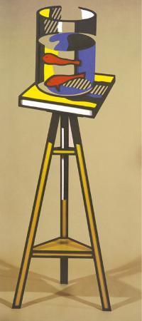 roy-lichtenstein-golden-aquarius-1977