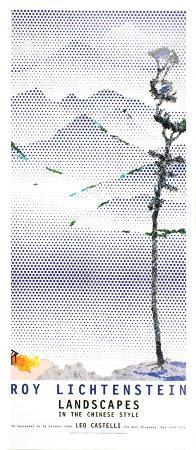 roy-lichtenstein-landscape-with-tall-tree