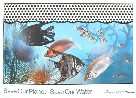 roy-lichtenstein-save-our-planet-save-our-water