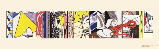 roy-lichtenstein-sketch-for-greene-street-mural-1983