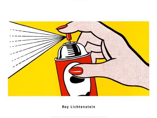 roy-lichtenstein-spray-1962