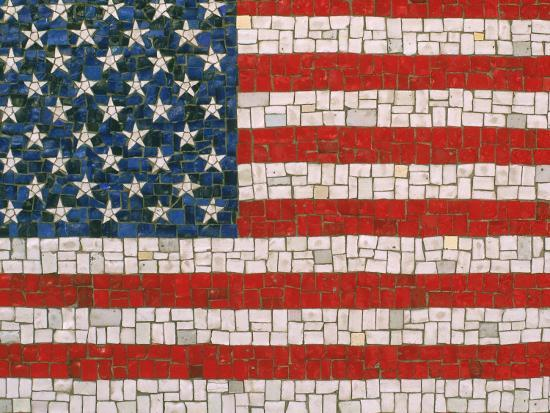 rudi-von-briel-american-flag-in-mosaic