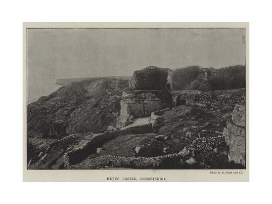 rufus-castle-dorsetshire