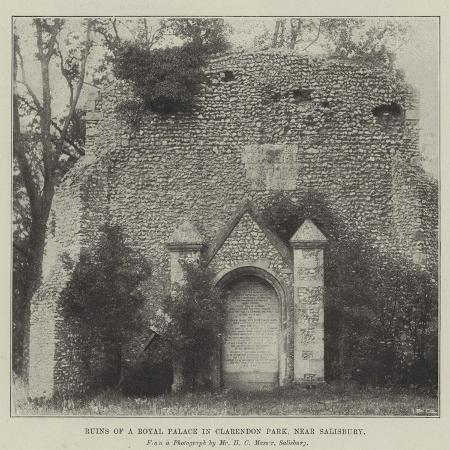 ruins-of-a-royal-palace-in-clarendon-park-near-salisbury