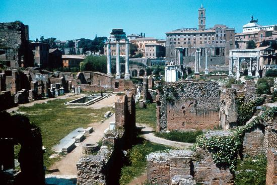 ruins-of-the-forum-rome-with-the-house-of-the-vestals-on-the-left