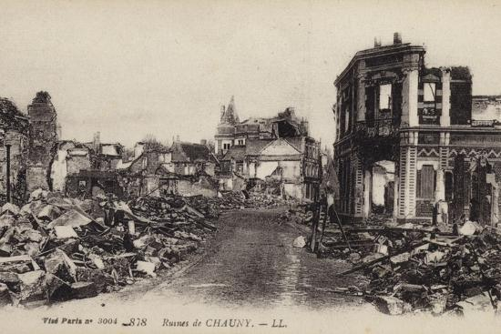 ruins-of-the-town-of-chauny-aisne-france-world-war-i