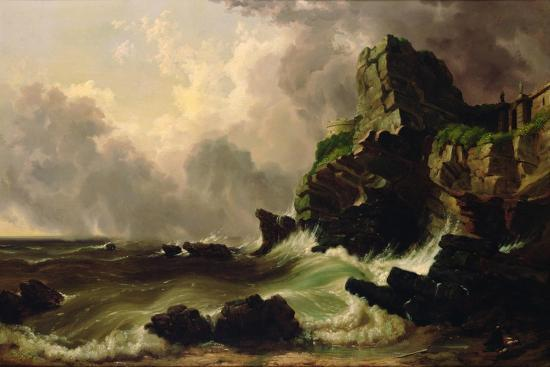 russell-william-thompson-smith-seascape-1867