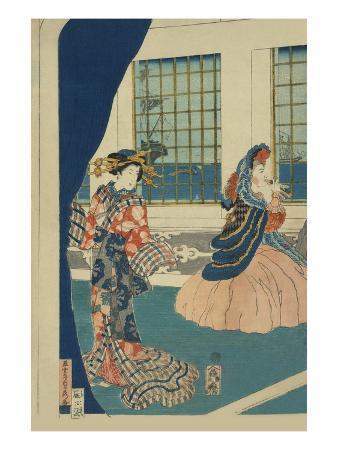 sadahide-utagawa-courtesans-in-a-western-style-building-of-yokohama-yokohama-no-yokan-no-yujo