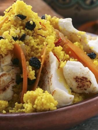 saffron-couscous-with-fish-carrots-and-raisins-n-africa