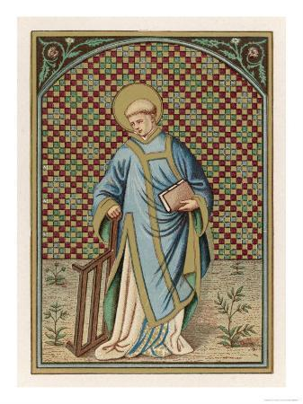 saint-laurence-of-rome-depicted-with-the-grid-on-which-he-will-soon-be-martyred