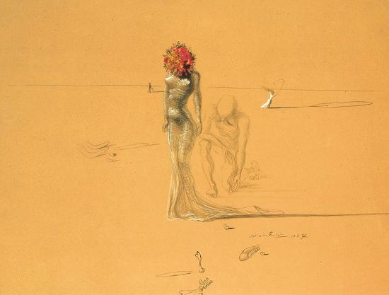 salvador-dali-female-figure-with-head-of-flowers-1937