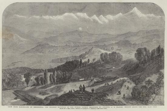 samuel-read-view-from-darjeeling-of-deodhunga