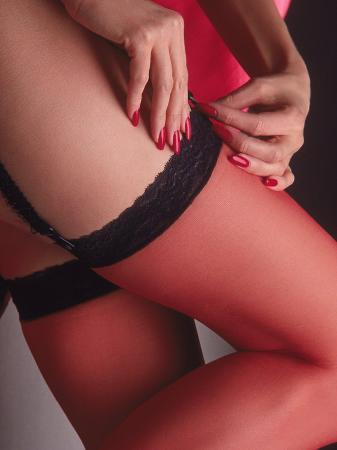 sandy-ostroff-woman-s-stockinged-leg