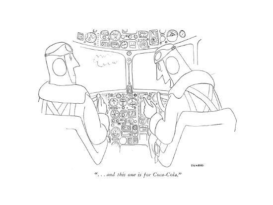 saul-steinberg-and-this-one-is-for-coca-cola-new-yorker-cartoon