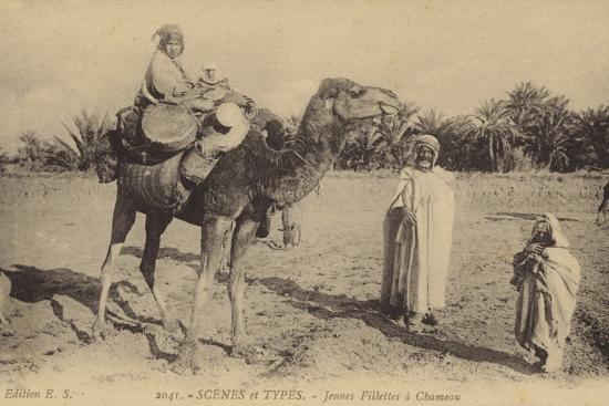 scenes-and-types-young-girls-with-a-camel
