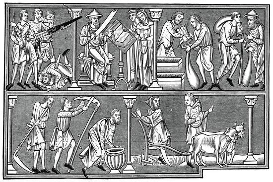 scenes-of-medieval-life-13th-century