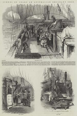 scenes-on-board-an-australian-emigrant-ship