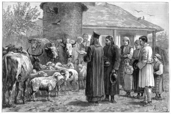 schonberg-blessing-domestic-animals-bulgaria-1887
