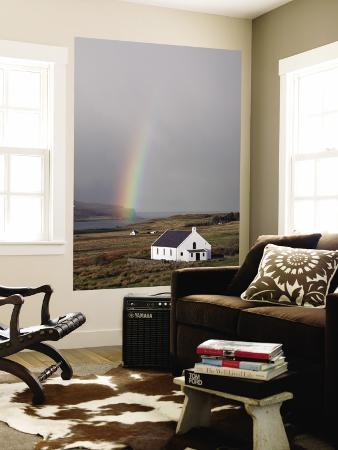 sean-caffrey-village-church-with-rainbow-in-background