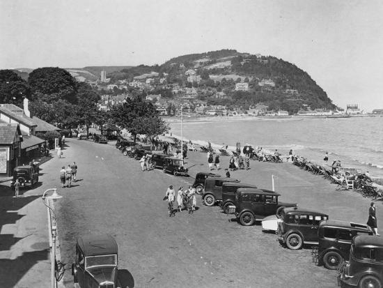 seaside-resort-of-minehead-somerset-early-1930s