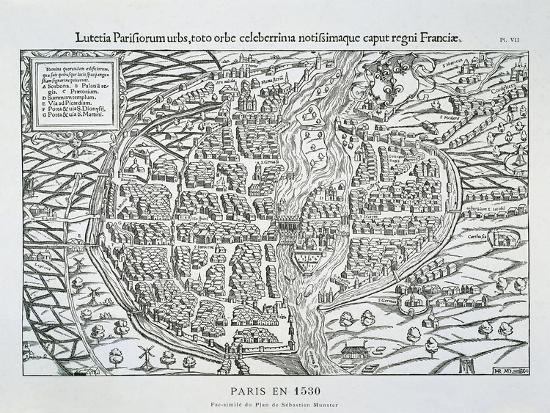 sebastian-muenster-paris-city-plan-c-1530
