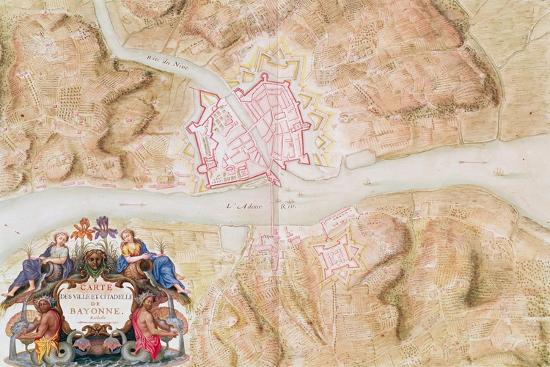sebastien-le-prestre-de-vauban-plan-and-map-of-the-town-and-citadel-of-bayonne