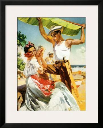 senorita-on-beach-with-banana-leaf