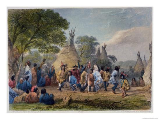 seth-eastman-dog-dance-of-the-dakotas