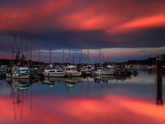 shawn-corinne-severn-ganges-harbor-sunset