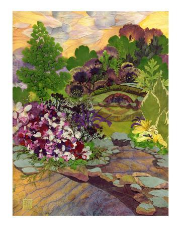 shelley-xie-stone-bridge-garden-pressed-flower-art