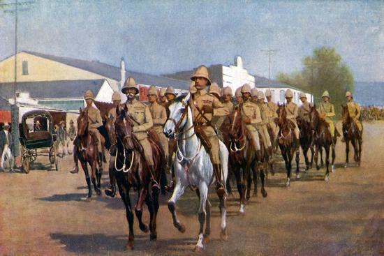 sidney-e-paget-lord-roberts-entering-pretoria-1925